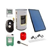 Solární systém - sestava pro Solární ohřev vody TV 300/2 s kompletním příslušenstvím