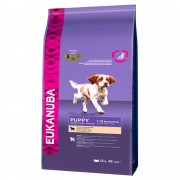 Eukanuba Puppy Small / Medium Breed агнешко и ориз - 2 x 12 кг