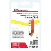 Office Depot Compatible Canon CLI-8Y Ink Cartridge Yellow
