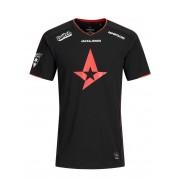 JACK & JONES Offizielles Astralis E-sport Spieler T-shirt Herren Schwarz