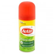 Autan - Insetto Repellente Tropical Spray Secco 100 Ml