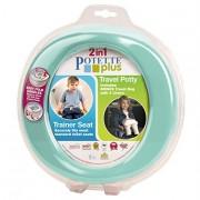 Toaleta portabila - olita portabila, Potette Plus turquoise
