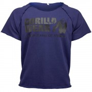 Gorilla Wear Classic Work Out Top - Navy - S/M