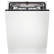 AEG FSS62807P ComfortLift Built In Fully Integrated Dishwasher with AirDry Technology