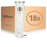 Wilson DTB Tour 18 Tubes De 4 En Carton