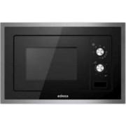 Microondas integrable Edesa EMW2010IGXBK, Negro, 20 L, 800 W, Grill