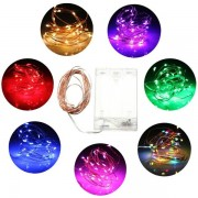 Meco 3M 30 LED Battery Powered Fairy String Light Wedding Party Christmas Tree Decoration