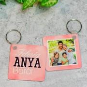 Feleség-Anya-Barát fényképes kulcstartó