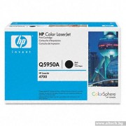 HP 643A Black Color LaserJet Print Cartridge (Q5950A)