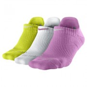 Nike Dri-FIT Cushion No-Show Tab Training Socks (3 Pair)