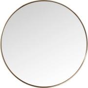 Kare Design Curve Spiegel Rond -Ø100cm - Koper