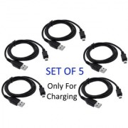 Best Buy - 5 x Universal cro USB Charging Cable - HTC LG OnePlus cromax