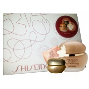 SHISEIDO BEN.FIRMING MASS. MASK 50ML + PURE RETINOL INST. TREAT. EYE MASK + CONC.EYE CREAM SET