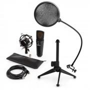 MIC-920B USB Mikrofon-Set V2 Kondensatormikro Mikrofonstativ Pop-Schutz