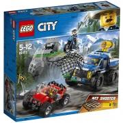 Lego city police duello fuori strada 60172