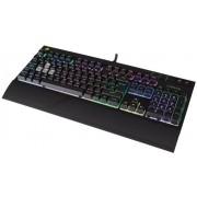 STRAFE RGB USB QWERTY Engels Zwart toetsenbord