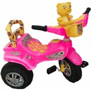Oh Baby Baby Duck Shape Music With Full Plastic Body Pink Color Tricycle For Your Kids SE-TC-18