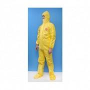 Tyvek Dupont Combinaison tychem c standard jaune t l avec chaussettes 0.000000