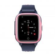 Ceas Inteligent pentru copii WONLEX KT15 4G Roz, cu GPS, apelare video, rezistent la apa, localizare WiFI si monitorizare spion