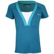 Tricou femei Reebok Fitness Tee Caspian Albastru XL