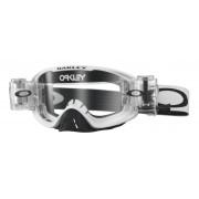 Oakley O2 Mx - Frame: MATTE WHITE Lens: CLEAR - Ski & Snowboard Goggles