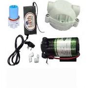EarthRoSystem Service Set1 X Smps(24 V) 1x Solenoid Valve (Sv) 24 V 1 X Pump(75 GPD) 2 X Elbow 1 X Pump Head