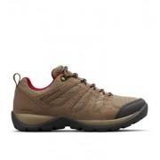 Columbia Chaussures De Randonnée Imperméables Redmond V2 - Femme Pebble, Beet 36 EU
