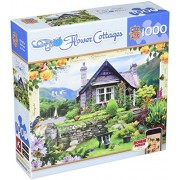 MasterPieces Flower Cottages Lakeland Cottage Jigsaw Puzzle, Art by Howard Robinson, 1000-Piece