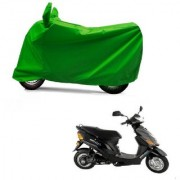 Kaaz Full Green Two Wheeler Cover For Electric Wave Dx