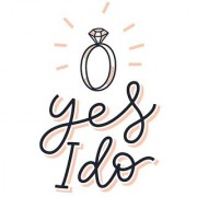 yes i do poster|valentine poste|love birds poster|poster for lovers|size(12x18 inch) wall sticker poster