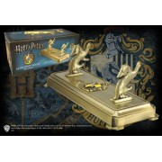 NOBLE COLLECTION Porta Bacchetta Con Stemma Tassorosso Harry Potter