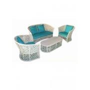 Set canapea Julie alb