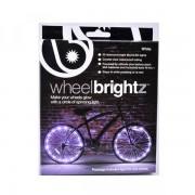 Sonstige Marke Fahrrad Bike Velo Speichen LED Beleuchtung Night Lights - Weiss