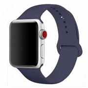 Blue City Apple Watch Series 3 42mm Aluminum Smartwatch Blue