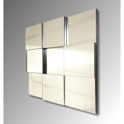 Facet Square Mirror