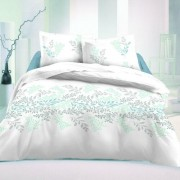 Lenjerie pat 1 pers. Victoria Luxury Collection albă, satin, 140 x 200 cm, 70 x 90 cm, 140 x 200 cm, 70 x 90 cm