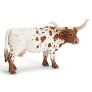 Schleich Texas Longhorn Cow Toy Figure