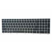 Tastatura originala HP ProBook 650 G4 ProBook 650 G5 fara iluminare layout US rama argintie