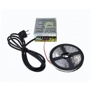 Ledstar kompletná sada, LED pásik 9m SMD 2835 60LEDm 12Wm trafo 150W MeanWell