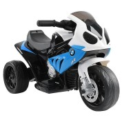 Big Fun Club BMW Kids' Ride-On Motorbike (Blue)