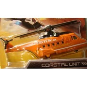Tonka Metal Diecast Bodies Copter Force COASTAL UNIT -- Search and Rescue Helicopter