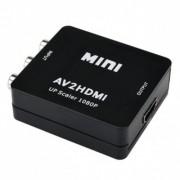 Adapter konverter AV 3xRCA na HDMI Ž/Ž Linkom