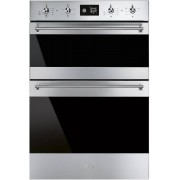 Smeg Classic DOSF6390X Double Built In Electric Oven - Stainless Steel