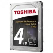 """TOSHIBA 4TB 3.5"""", SATA III, 128MB, 7200rpm, X300 serija - HDWE140UZSVA"""