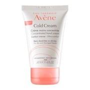Cold cream creme reparador de mãos concentrado pele seca e muito seca 50ml - Avene