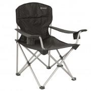 Outwell Cadeira campismo dobrável Catamarca XL 90x62x96cm preto 470048