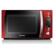 Cuptor cu microunde Candy CMXG20DR, 20 l, 700 W, Display, Grill, Rosu