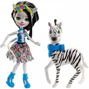 Mattel Bambola Mattel Enchantimals Zelena la Zebra e Hoofette