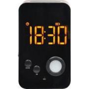 Boxa cu ceas portabila bluetooth Afisare LED FM Radio Lampa Alarm Clock Slot microSD