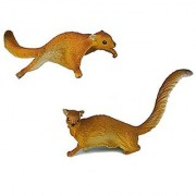 AAA 52020 Flying Squirrels - Set of 2 Realistic Toy Forest Animals